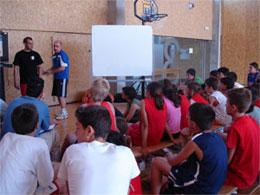 Charla técnica para jugadores. Carlos Losada. Campus JGBasket 2007