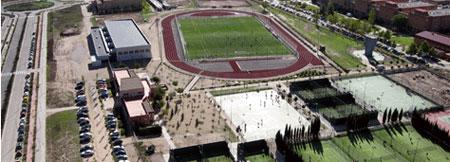 Instalaciones deportivos Campus Universidad de Alcalá de Henares. Servicio de Deportes