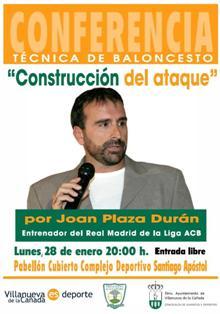 Joan Plaza. Charla